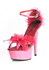 Туфли с рюшами EROLANTA