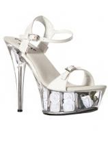 Туфли белые EROLANTA