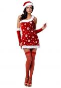 Новогодний костюм снегурочки LE FRIVOLE
