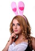 Розовые ушки зайчика